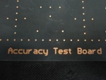MyData - Accuracy Test Board - 109461
