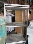 Production Industries Stencil Frame Storage Cart_ID 113224