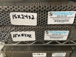 In-Line Cleaner Board Basket Medium 15x24x2, Lot of 2 ID_113283