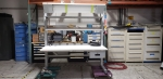 Bench-Craft Workstation 34x34x72 with Overhead Light  ID_140344