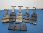 Vibratory Top Plates for SMT Component Feeders, Misc. sizes (lot of 6) - ID 51995