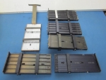 Lot of 6 Vibratory Feeder Top plates - Soic/PLCC - ID 51996