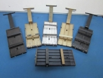 Top Plates for Vibratory Feeders used with SMT machines (Lot of 5) - ID 51997