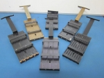 6 various sized Top Plates for SMT Vibratory Feeder - ID 51999