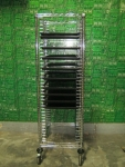Quantum Storage Wire Tray Cart W/Trays_ID 52313